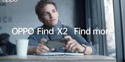 OPPO Find X2 - Find More with Eddie Redmayne