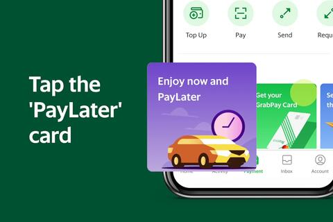 Grab - How to Activate PayLater